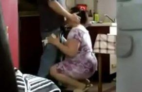 Madre viciosa es la más guarra y se folla a su yerno