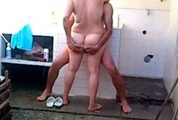 imagen Madura se baña y coge con su amante