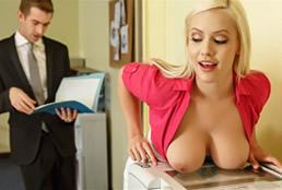 imagen Zorra secretaria hace lo que sea por un aumento de sueldo