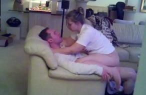 imagen Esposa infiel folla con su amante y todo queda grabado con cámara oculta