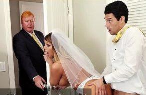 imagen Zorra infiel folla con su hijastro en el día de su boda