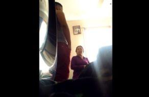 Prostituta madura grabada con cámara oculta mientras folla