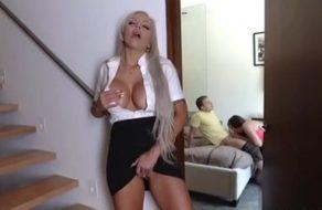 imagen Zorra cumple su fantasía de follarse al novio de su hija