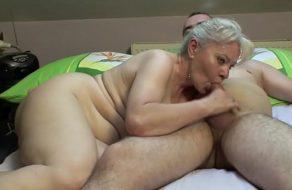 Matrimonio maduro haciendo el amor y grabándose ¡Esta buena la vieja!