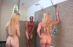 ¡Abusadoras! Se metieron a la ducha con su sobrino sin el permiso del chaval