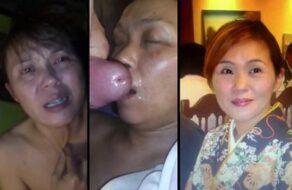 Español se folla duro a su mujer japonesa y se corre en su cara